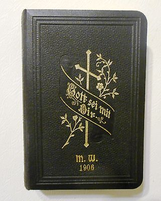 God Speed You 1906 Personal Songbook Old Antique German Language Script
