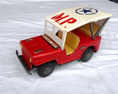 K.CO. Japan TinToy MP Willys Jeep MB Military Police Truck 4x4 CJ2  CJ3 5