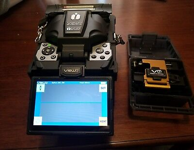 INNO VIEW 3 ACTIVE CLAD ALIGNMENT FUSION SPLICER KIT 9 splices