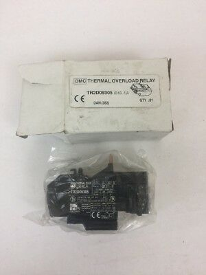 Shamrock TR2-D09305 T-Range Overload Relay 2.5-4 Amps New TR2D09305