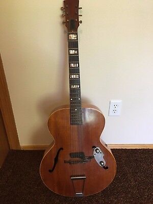 Vintage Acoustic-Electric Guitar Brand Unknown