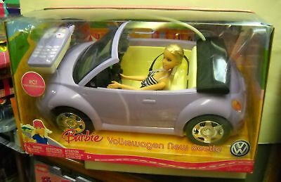 #871 Radio Shack Barbie Volkswagen New Beetle w/Barbie