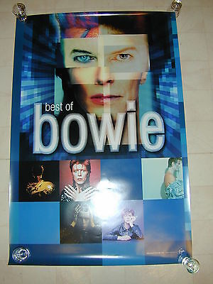 David Bowie  Best Of Bowie Promo Poster RARE Virgin Records
