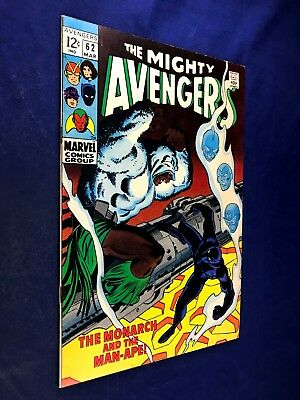 Avengers #62 (1961 Marvel) 1st appearance Man-Ape Silver Age NO RESERVE