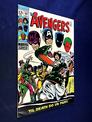 Avengers #60 (1969 Marvel) The Wasp Wedding Silver Age NO RESERVE