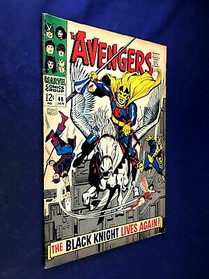 Avengers #48 (1968 Marvel) Black Knight appearance Silver Age NO RESERVE