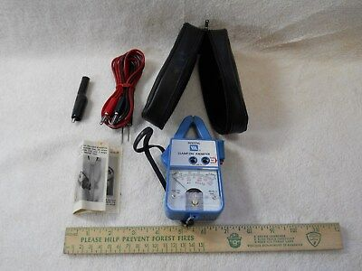 Clamp-on ammeter, by Maytag, part # 38186, EC, with case