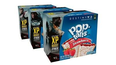 Destiny 2 Pop Tarts - One XP Booster Code (No Box) - Quick Delivery