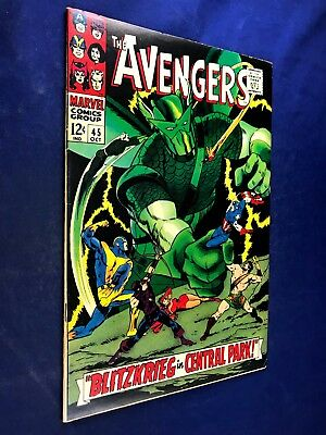 Avengers #45 (1967 Marvel) Super-Adaptoid appearance Silver Age NO RESERVE
