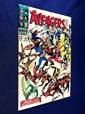 Avengers #44 (1967 Marvel) Red Guardian appearance Silver Age NO RESERVE