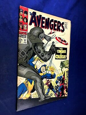 Avengers #37 (1967 Marvel) Ultroids appearance Silver Age NO RESERVE