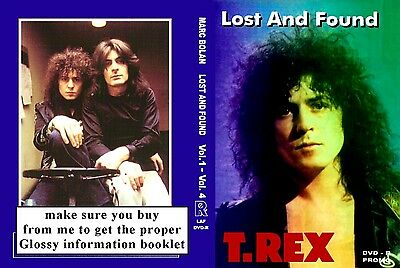 Marc Bolan & T.rex Lost & Found 4 Dvd Set Donated For Memorial Fund Raising :-)