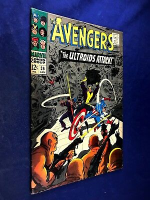 Avengers #36 (1967 Marvel) Ultroids appearance Silver Age NO RESERVE