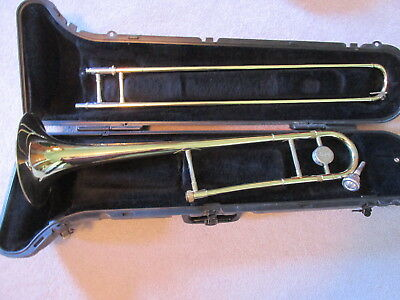 Nice Selmer Bach Trombone With Case & Mouthpiece Ready to Play