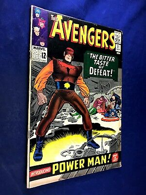 Avengers #21 (1965 Marvel) Power Man appearance Silver Age NO RESERVE