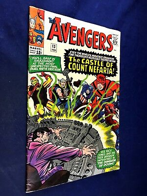 Avengers #13 (1965 Marvel) 1st appearance Count Nefaria Silver Age NO RESERVE