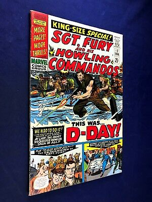 Sgt. Fury and His Howling Commandos Annual #2 (1966 Marvel) Silver Age