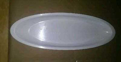 George Foreman 9 1/2 inch white fat tray