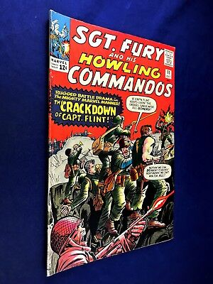 Sgt. Fury and His Howling Commandos #11 (1964 Marvel) Silver Age NO RESERVE