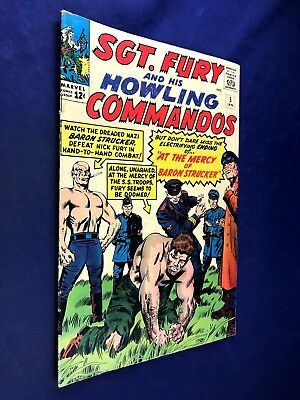 Sgt. Fury and His Howling Commandos #5 1964 Marvel 1st appearnace Baron Strucker