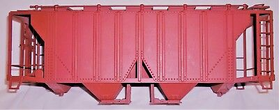 """""""art 4100 Series""""??  New Two Bay Covered Hopper Car """"body Only""""  G-Scale"""