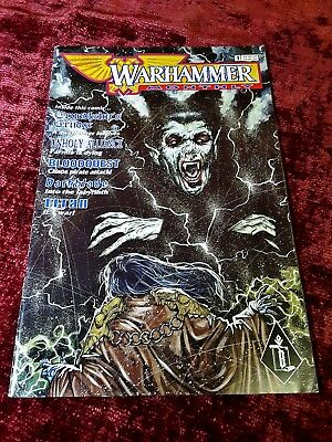 Vintage Warhammer monthly games workshop issue 3, May 1998 black library edition