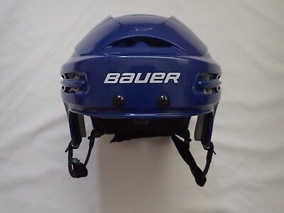 Pro stock Bauer 5100 Toronto Maple Leafs Royal large used