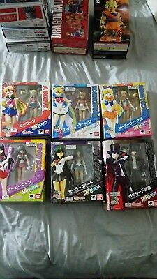 **new**7 Bandai S.H. Figuarts Sailor Moon authentic whole set! **Newly added**