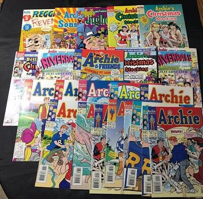 Lot Of 23 Archie Related Lot Comic Books!!