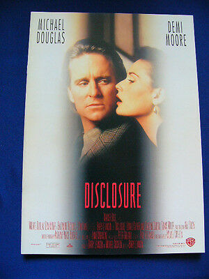306.1995 DISCLOSURE Japan PG Michael Douglas Demi Moore