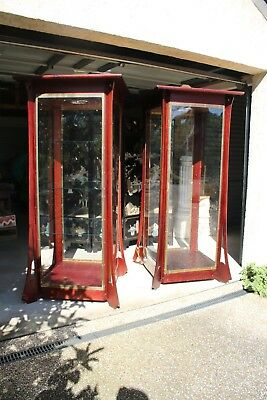 A Pair of Art Nouveau Display Cabinets