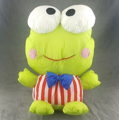 Sanrio Keroppi Nylon Plush Toy Stuffed Animal