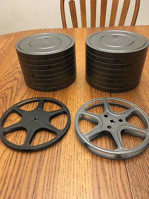 8mm Empty Film Metal Reels with Cans