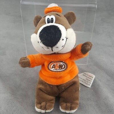 A&W Root beer Plush Toy Fast Food Advertising