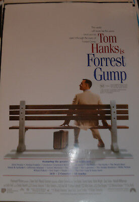 FORREST GUMP -  original Australian movie poster - TOM HANKS