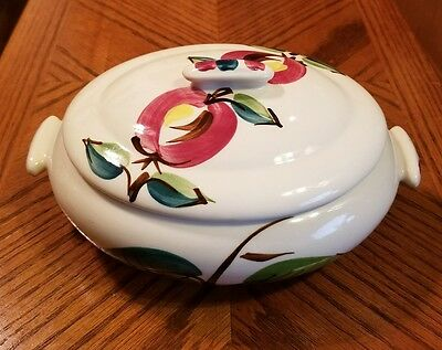 Purinton Pottery APPLE Covered Oval Serving Dish