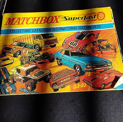 1970  Matchbox   toy's Illustrated Catalogue
