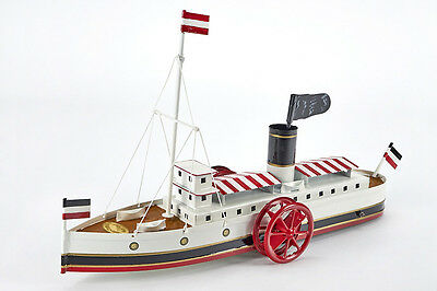 Lot 2556 Tucher & Walther Raddampfer - paddle steamer - T 335, OVP, TOP + RARE