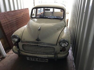 1968 Morris Traveller 1000 spares or repairs good base for a project woody minor