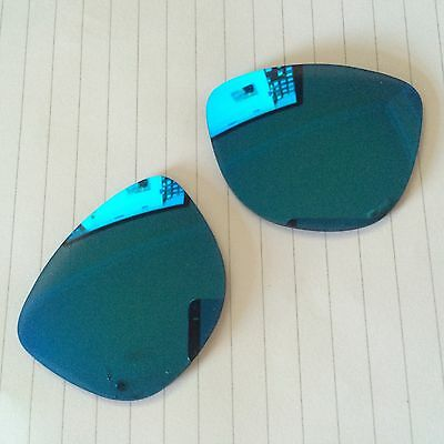 Oakley Frogskins (55x17) Lenses Grey with Blue Iridium Mirror coating. BRAND NEW