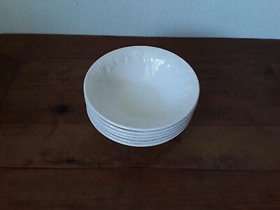 British Home Stores Lincoln Cereal Bowls X 6 Bhs