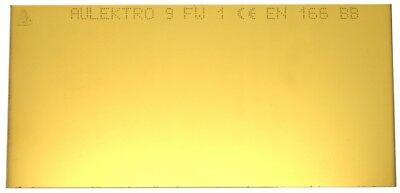 Gold Coated Welding Lens 51 x 108 mm