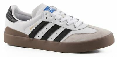 Adidas  Busenitz Vulc Samba Edition White/Core Black/Bluebird Shoes