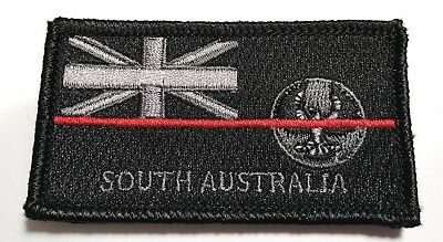 SA Fire Patch, NSW State Flag, Thin Red Line, Hook Rear