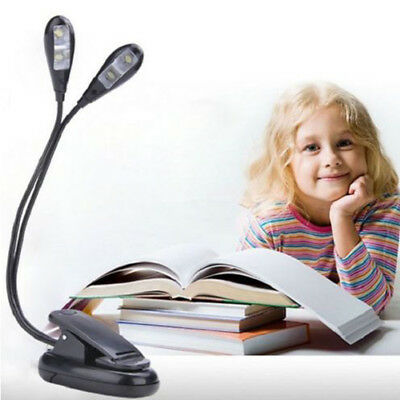 Adjustable Goosenecks Clip on LED Lampe for Music Stand and Book Reading Licht