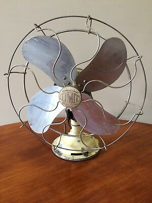 Limit Vintage 2 Speed Desk Fan Made In England 1940's