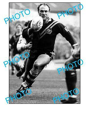 Wally Lewis Qld Rugby Legend Large A3 Photo, Aust