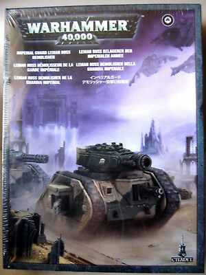 WARHAMMER 40K Imperial Guard Leman Russ Demolisher NEW SEALED Citadel Miniatures