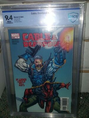 Cable/deadpool #2 9.4 Cbcs Not Cgc Get It Before Movie Hits!!!