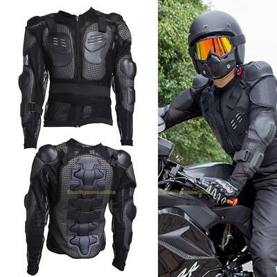 Motorcycle Adult MX Full Body Armor Jacket Spine Chest Shoulder Protector Riding
